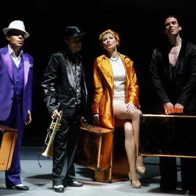 Show Glanzlichter mit Sabine Hettlich, Joo Kraus und Danny Costello, Friedrichstadtpalast Berlin // Foto: Agentur Davids