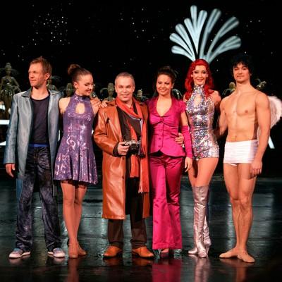 Show Rhythmus Berlin mit Lutz Thase, Nathalie Tineo, Dominique Lacasa, Corp de Ballett. Friedrichstadtpalast Berlin // Foto: Agentur Davids